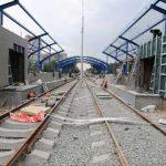 К кислородному заводу проложат трамвайные пути