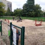 На Пражской построили площадку для собак